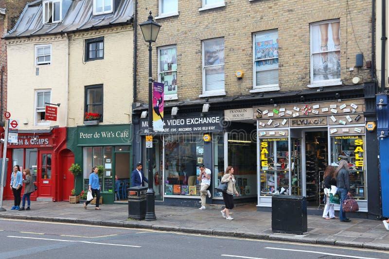 Greenwich, Londyn obrazy stock