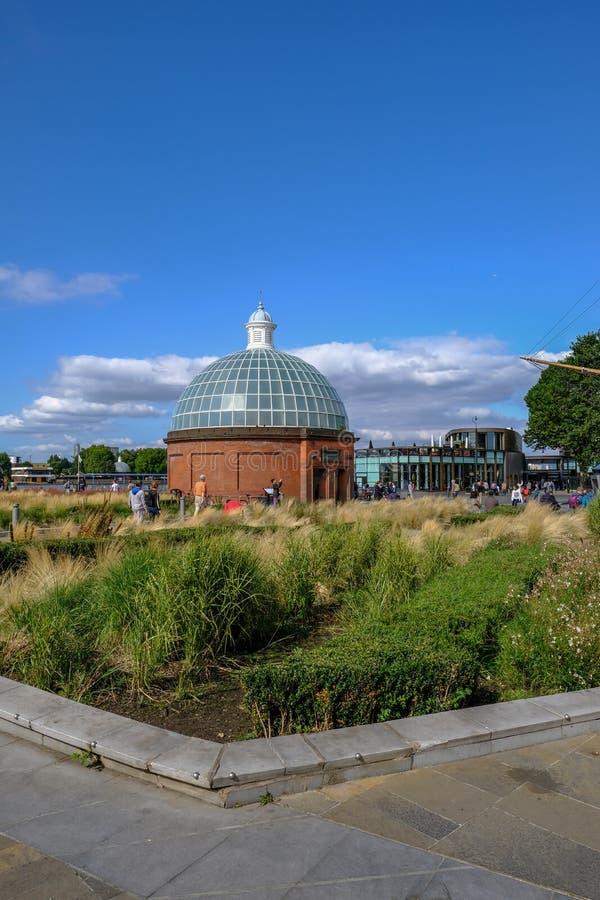 Greenwich, Londyn, UK - Sierpień 10, 2017: Greenwich blisko Cutty Sa fotografia royalty free