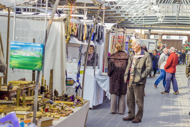 Greenwich market stock photography