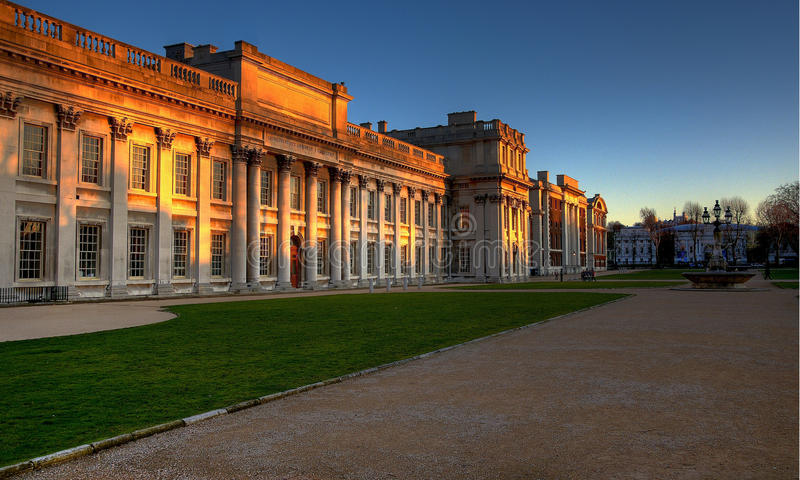 Greenwich-Universität stockfotografie