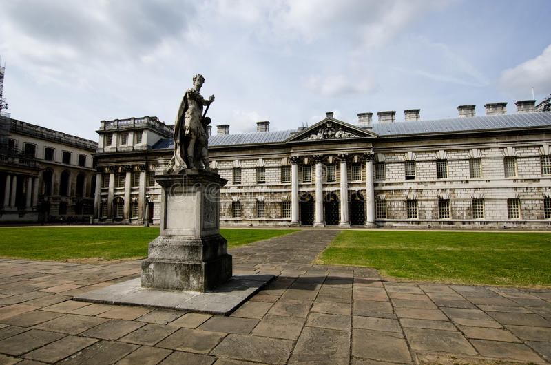 Greenwich University Campus, London royalty free stock photography