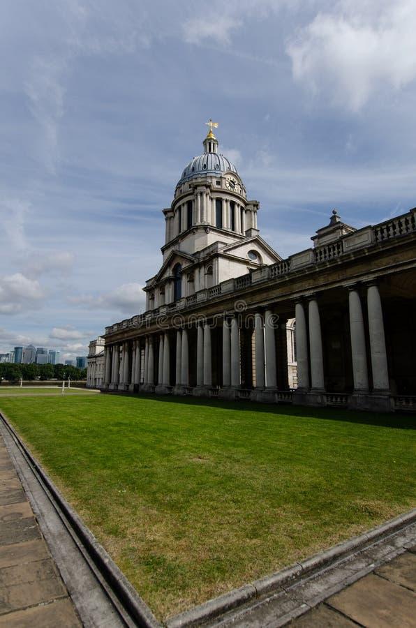 Greenwich park, Royal Navy chapel stock photo