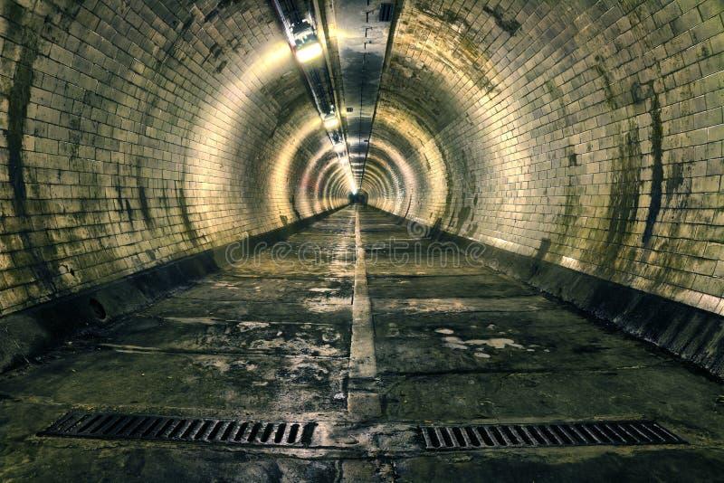 Greenwich-Unterführung stockfotografie