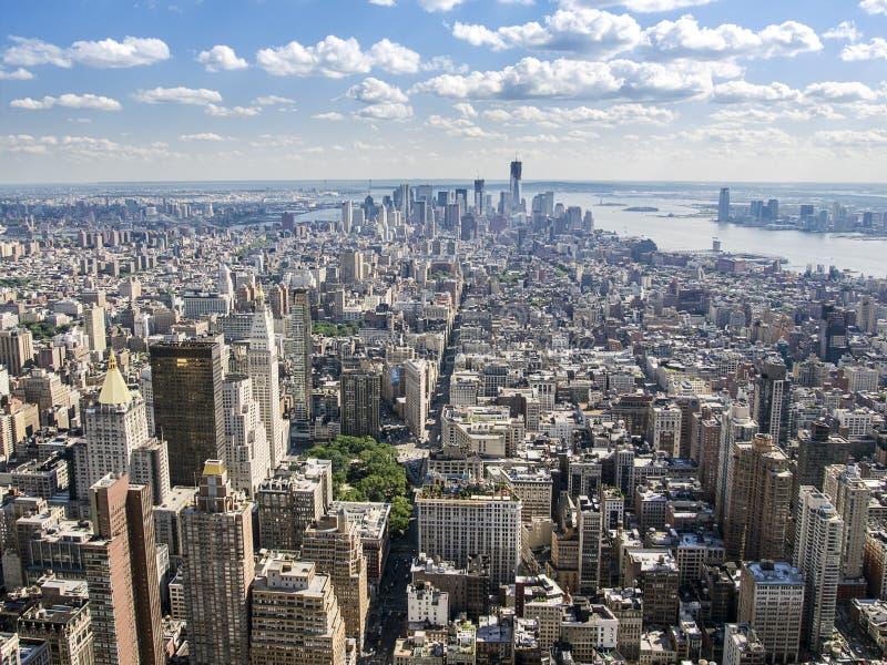 Greenwich Village et Manhattan du centre images libres de droits