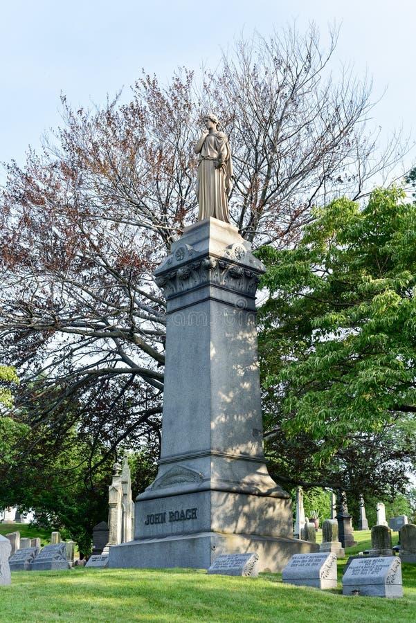 Greenwood cmentarz fotografia royalty free