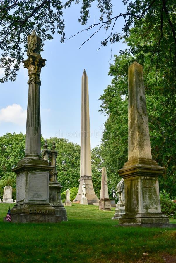 Greenwood cmentarz zdjęcia royalty free