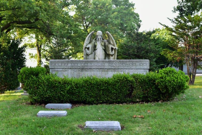 Greenwood cmentarz obraz stock