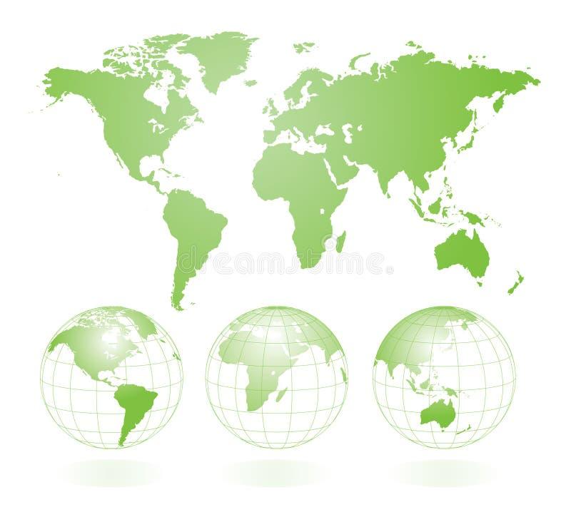 Greenworld stock de ilustración
