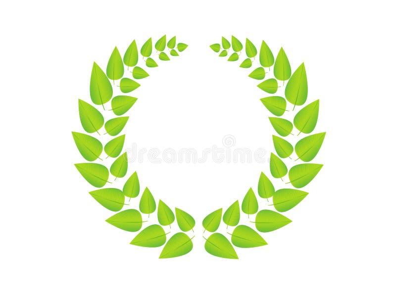 greenwreath 免版税图库摄影