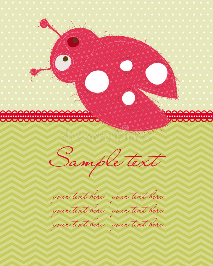 Download Greeting Baby Card Stock Photography - Image: 21867402