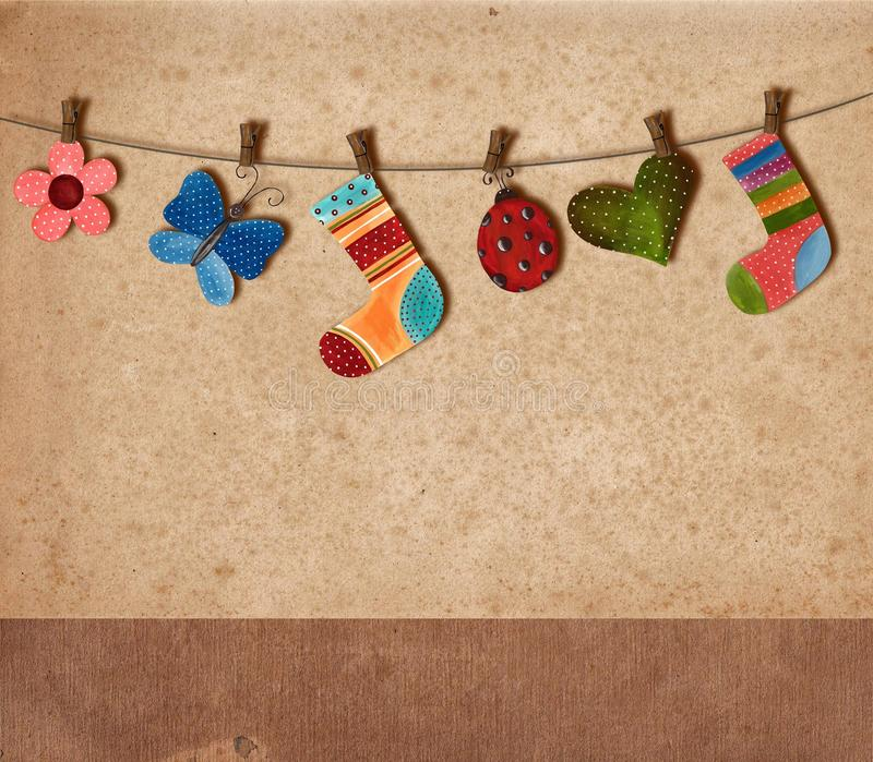 Download Greeting card stock illustration. Image of background - 20567736