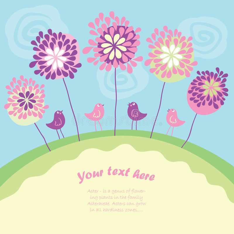 Download Greeting card stock vector. Illustration of decorative - 9223055