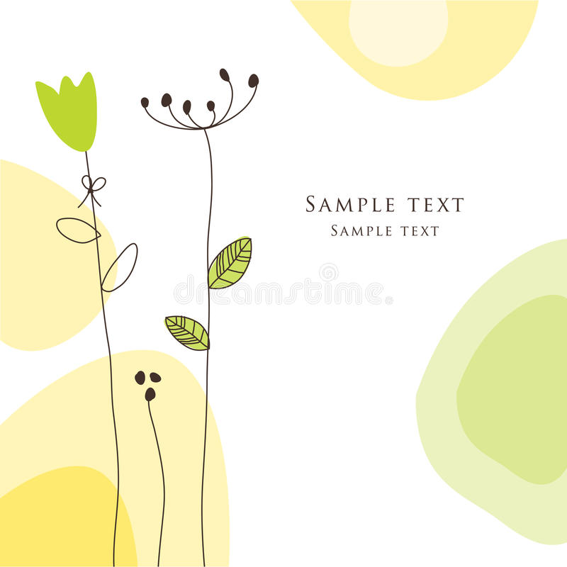 Greeting card royalty free stock images