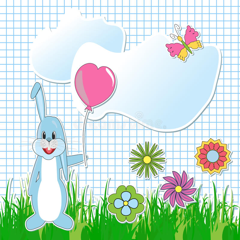 Download Greeting  Card With Cartoon Elements Stock Illustration - Illustration: 25328554