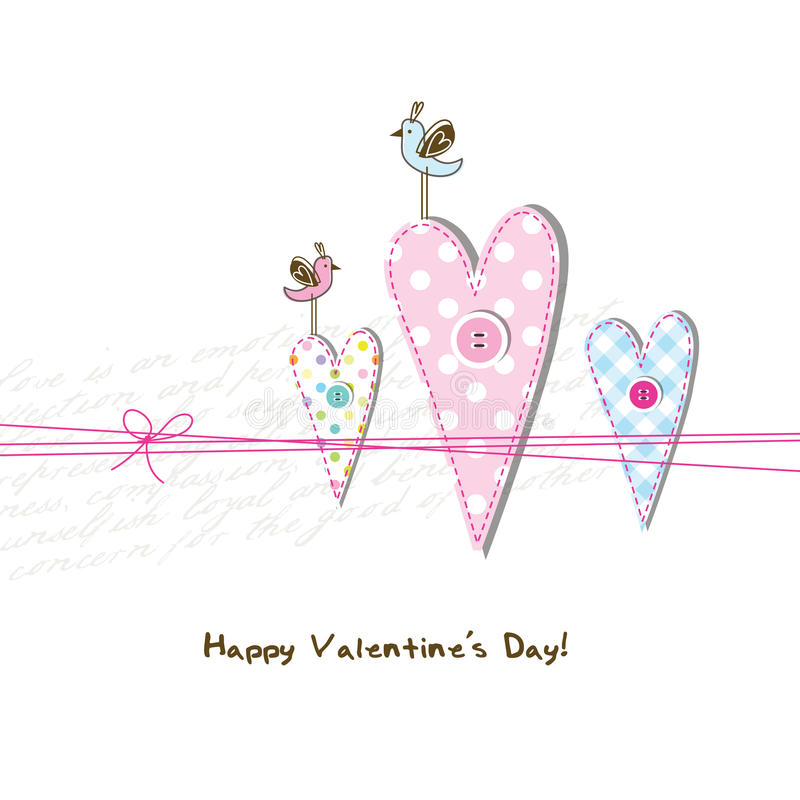 Greeting card with copy space. Cute card with copy space vector illustration