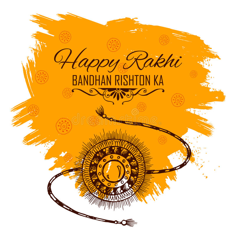 Greeting card with decorative rakhi for raksha bandhan background download greeting card with decorative rakhi for raksha bandhan background stock vector illustration of bandhan m4hsunfo