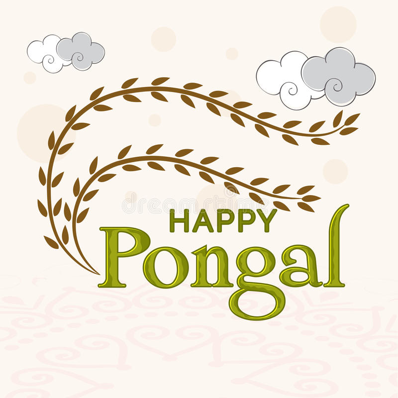 Greeting card design for happy pongal festival celebrations stock download greeting card design for happy pongal festival celebrations stock illustration illustration of asian m4hsunfo