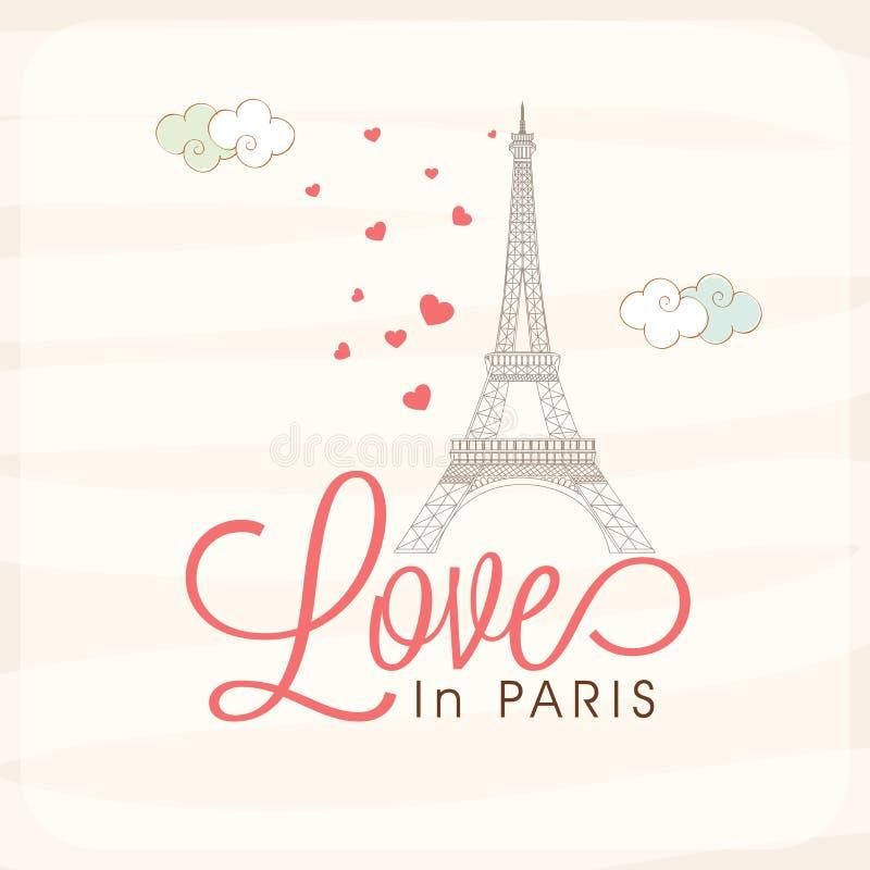 Greeting card design for Happy Valentines Day celebration. stock illustration