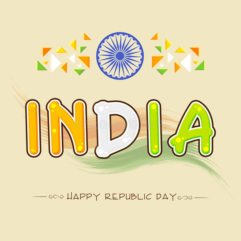 Greeting card design for indian republic day celebration stock download greeting card design for indian republic day celebration stock illustration illustration of glory m4hsunfo