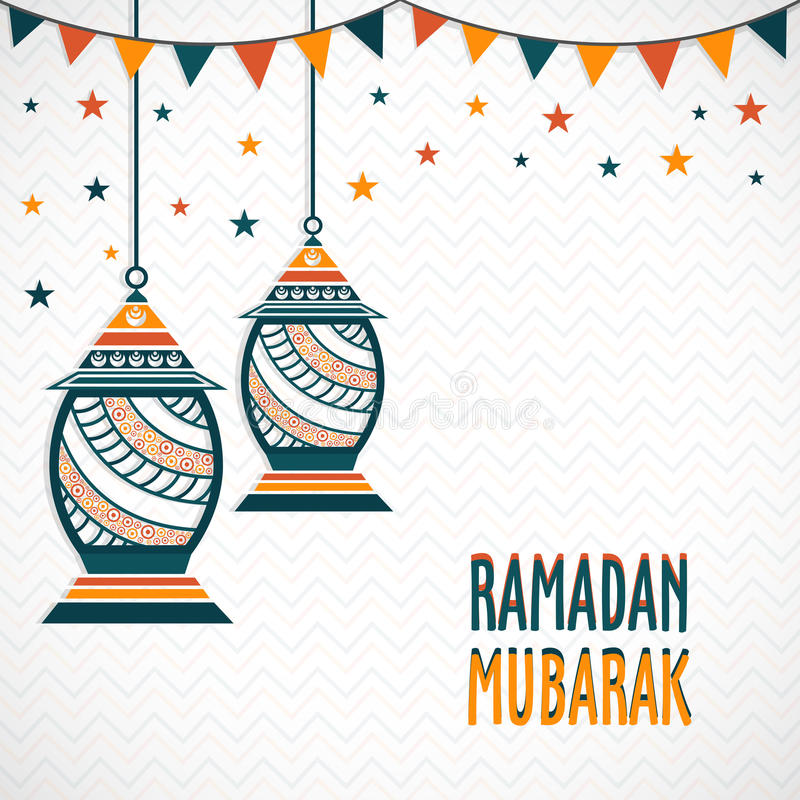 Greeting card design for ramadan mubarak stock illustration download greeting card design for ramadan mubarak stock illustration illustration of flyer azha m4hsunfo