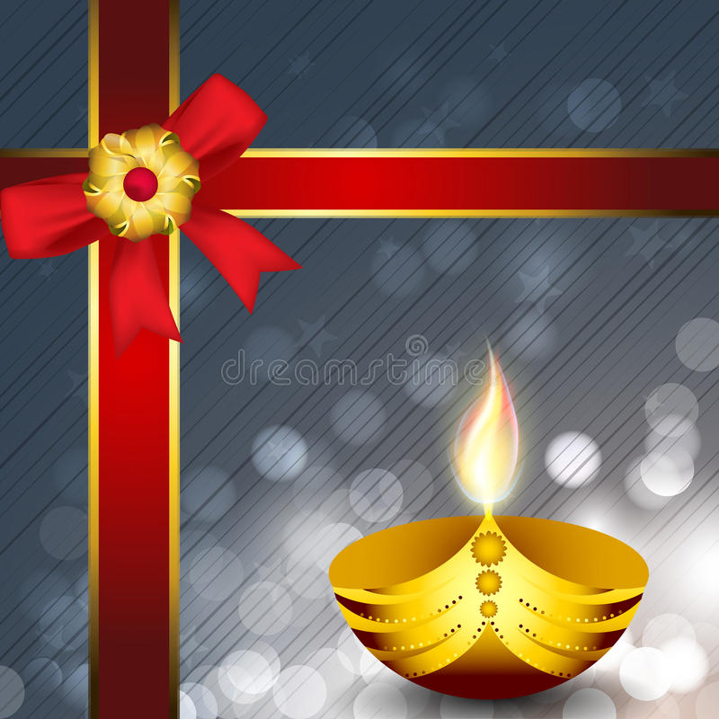 Download Greeting Card For Diwali Celebration Stock Vector - Image: 26886777