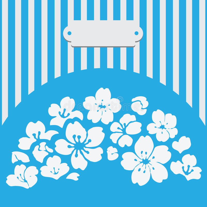 Download Greeting Card With Flowers Stock Vector - Image: 40370328