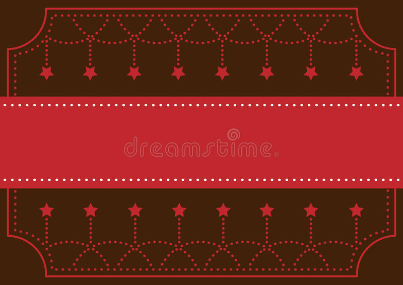 Greeting Card for Invitation in Celebration Festival and Annivers stock photo