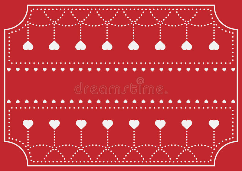 Greeting Card for Invitation in Celebration Festival and Annivers royalty free stock photo