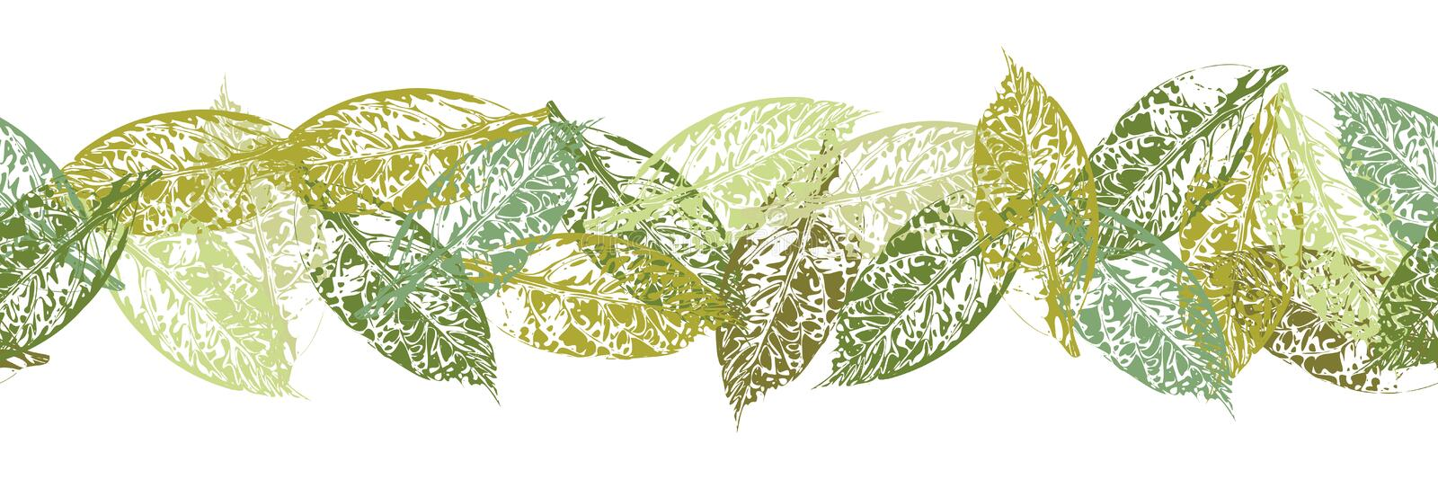 Greeting card with leaf stock photography
