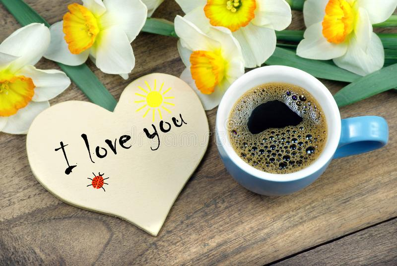 Good Morning Mom Greeting Card For Mothers Day Cup Of Coffee And