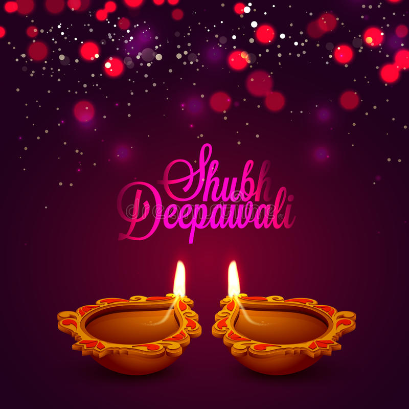 Greeting card with oil lamp for happy diwali stock illustration download greeting card with oil lamp for happy diwali stock illustration illustration of beautiful m4hsunfo