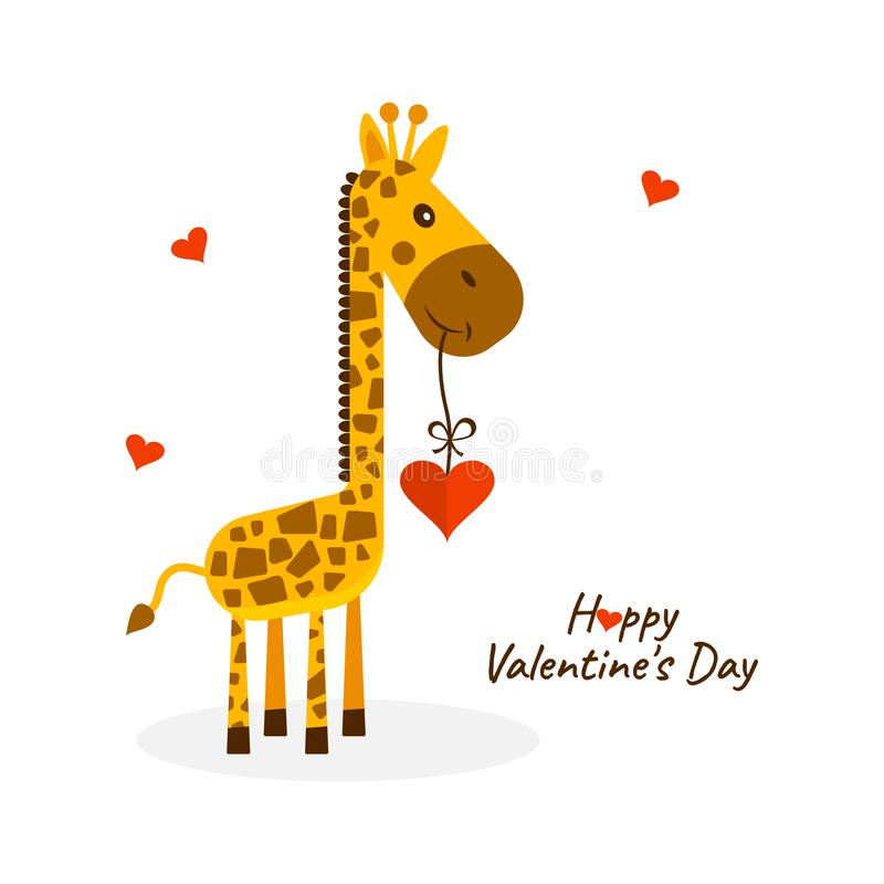 Greeting card for Saint Valentine`s Day.. Vector illustration vector illustration