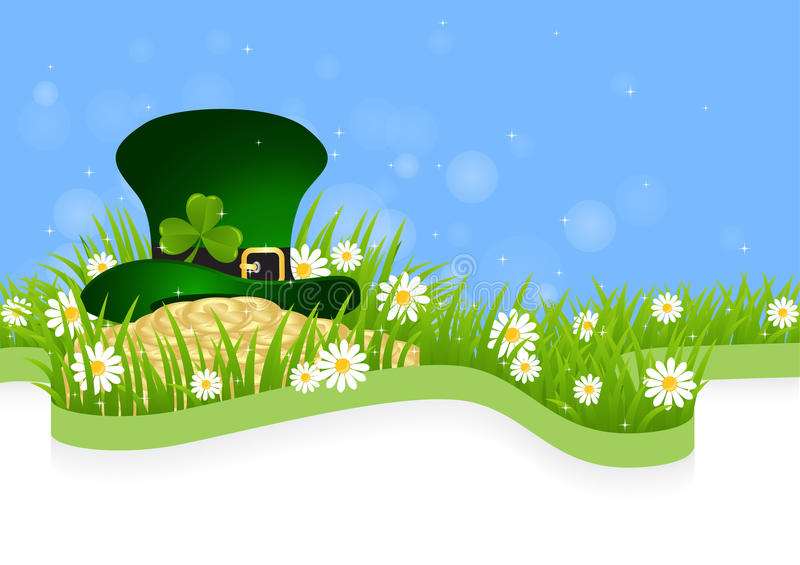 Greeting Card St. Patricks Day vector illustration