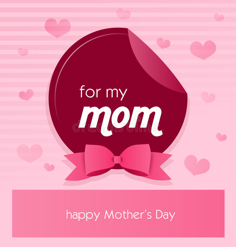 Greeting card to mothers day stock illustration illustration of download greeting card to mothers day stock illustration illustration of background color 70453193 m4hsunfo