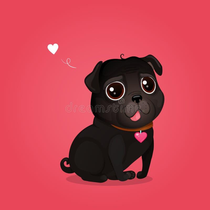 Black Pug Cartoon Stock Illustrations 1 510 Black Pug Cartoon Stock Illustrations Vectors Clipart Dreamstime