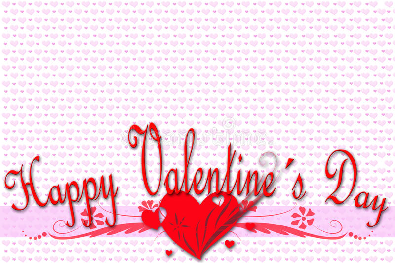Download Greeting Card For Valentine's Day Stock Illustration - Illustration: 36704871
