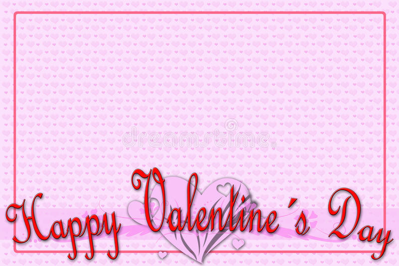Download Greeting Card For Valentine's Day Stock Illustration - Illustration: 36704883