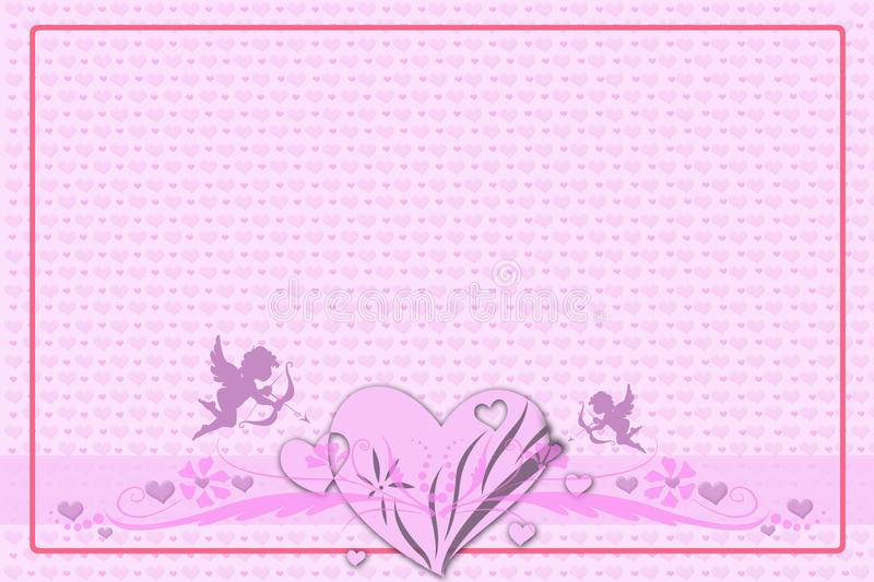Download Greeting Card For Valentine's Day Stock Illustration - Image: 36704906