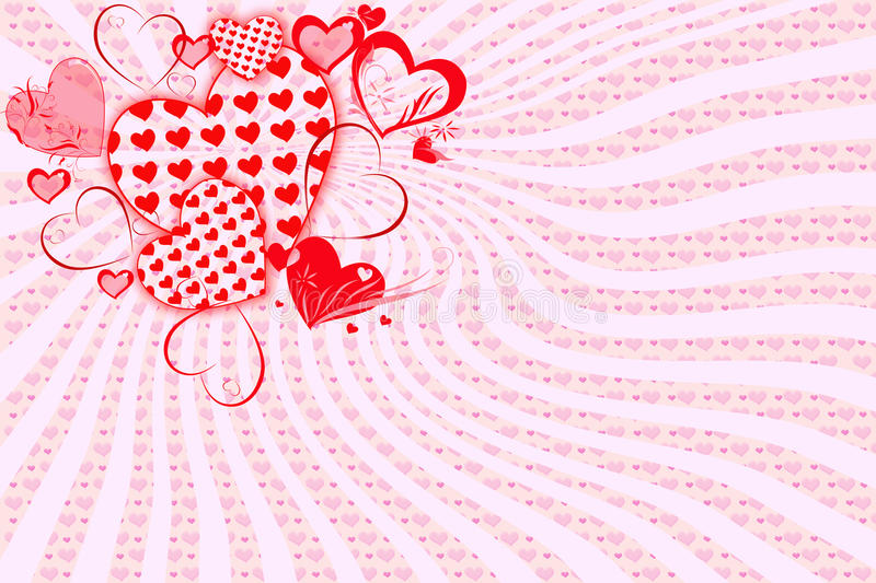 Greeting Card For Valentine S Day Royalty Free Stock Photography