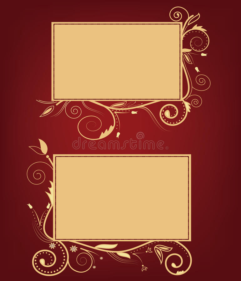 Download Greeting cards stock vector. Image of greeting, flowery - 22329990