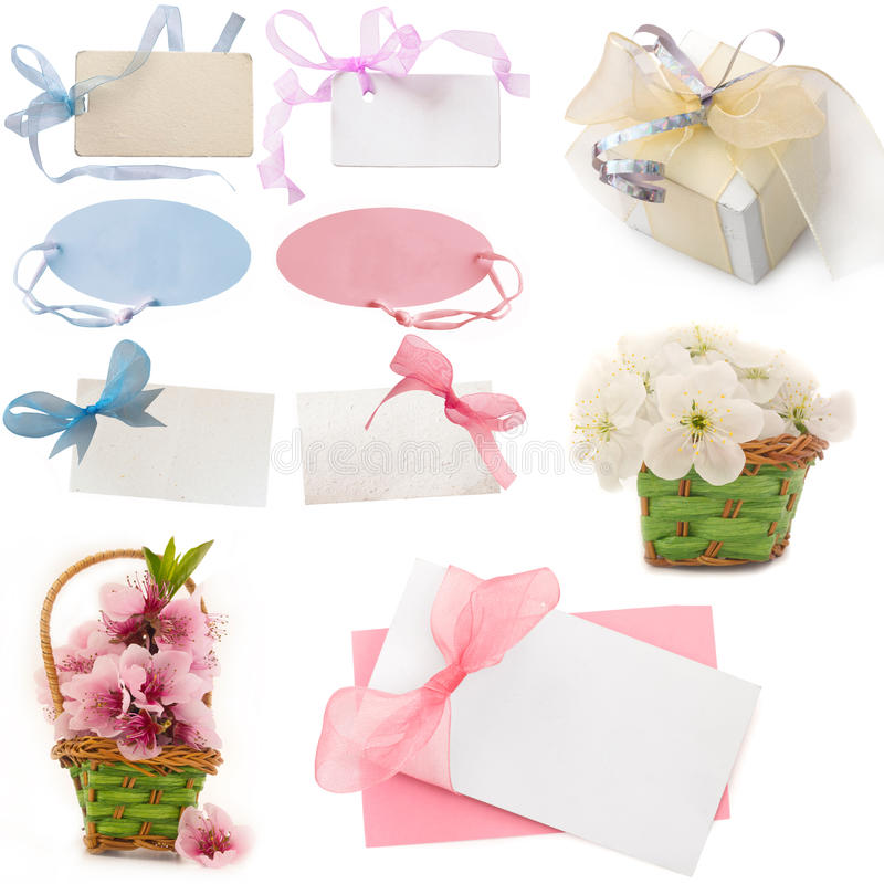 Greeting cards stock photography