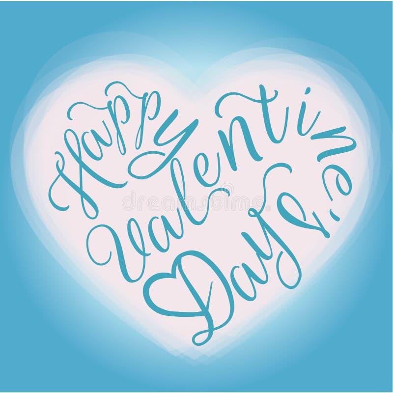 greeting lycklig s valentin för kortdag royaltyfri illustrationer