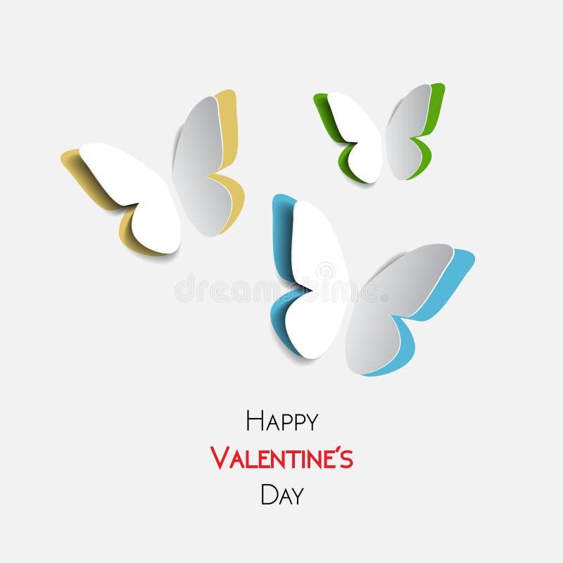 greeting lycklig valentin för kortdag vektor illustrationer