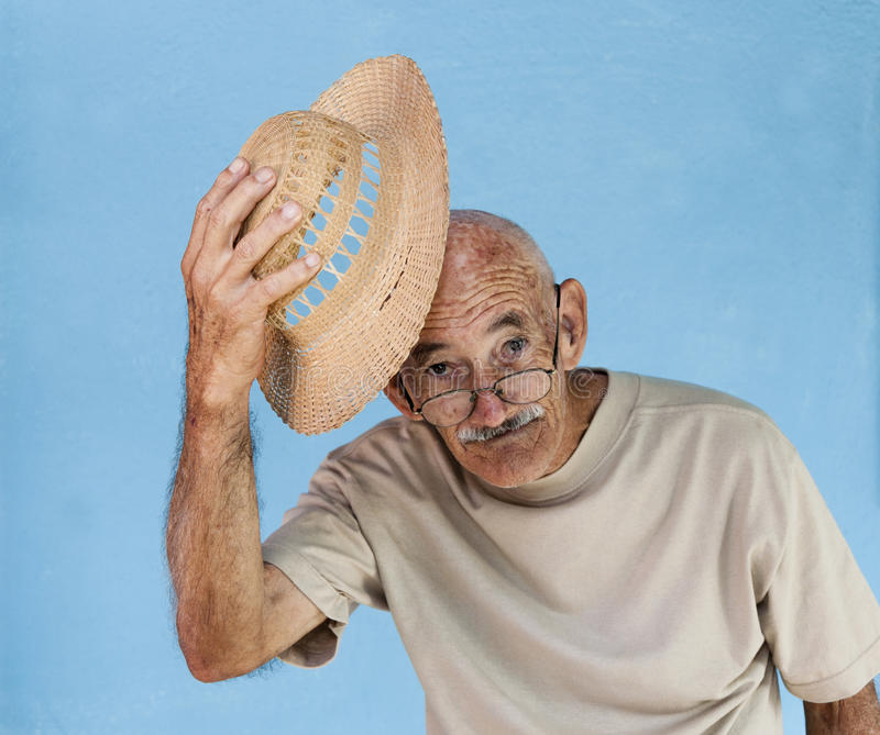 Download Greeting Old Man stock photo. Image of looking, lifestyle - 27518762