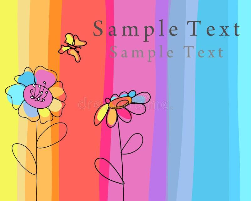 Greetings card vector illustration