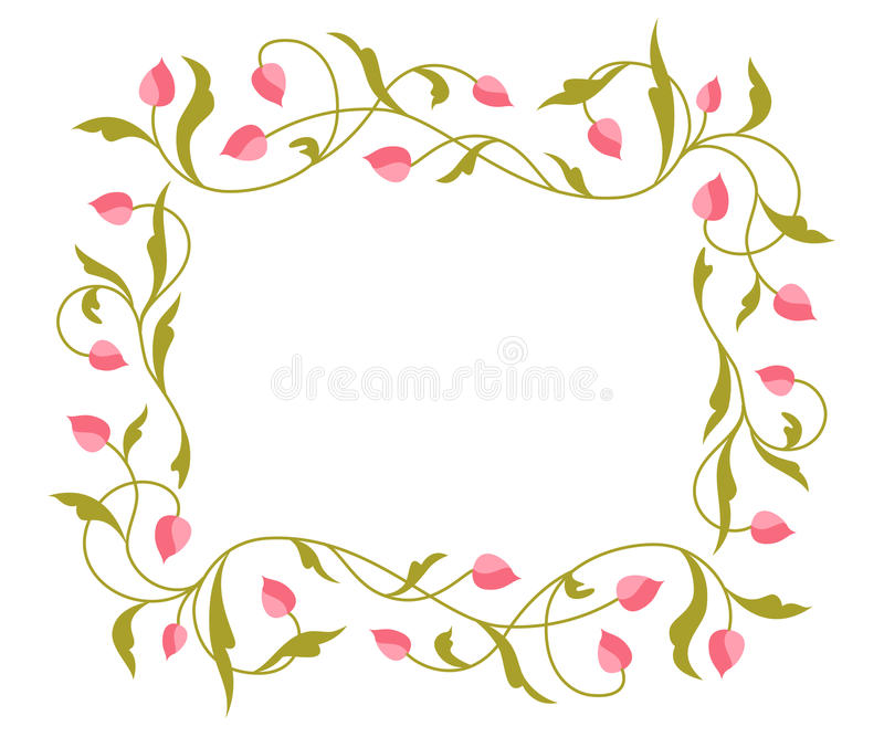 Download Greetings Card With Floral Pattern. Stock Vector - Image: 18519993