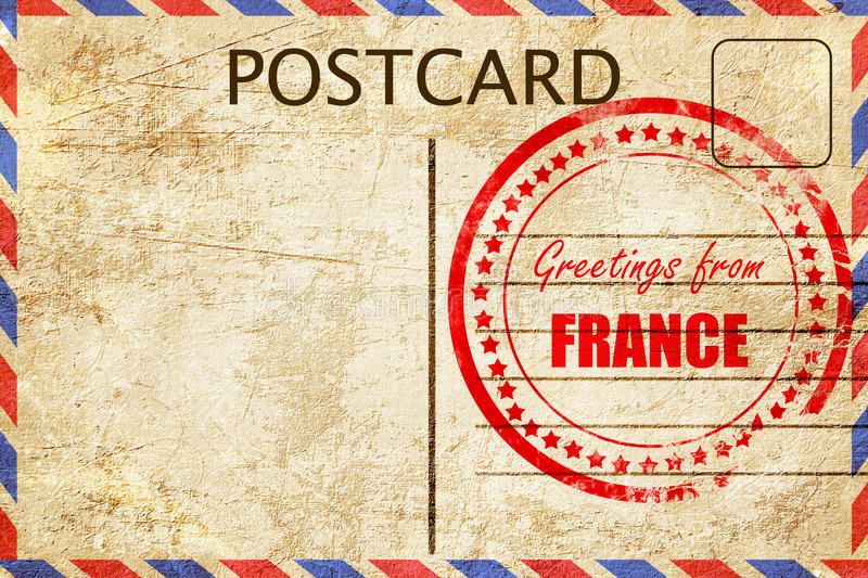 Greetings from france stock illustration illustration of design greetings from france m4hsunfo