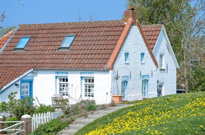 Greetsiel,北德国,北海 库存图片