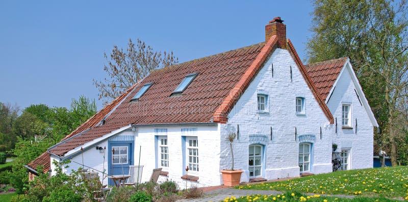 Greetsiel, Allemagne nordique, la Mer du Nord photos stock