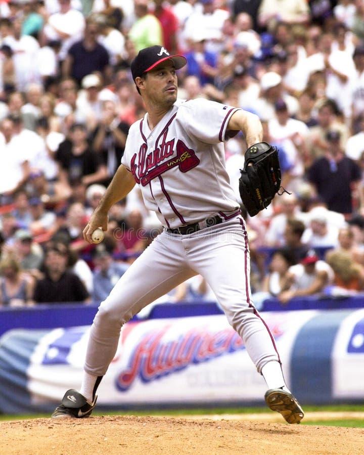 Greg Maddux Atlanta Braves royaltyfria foton
